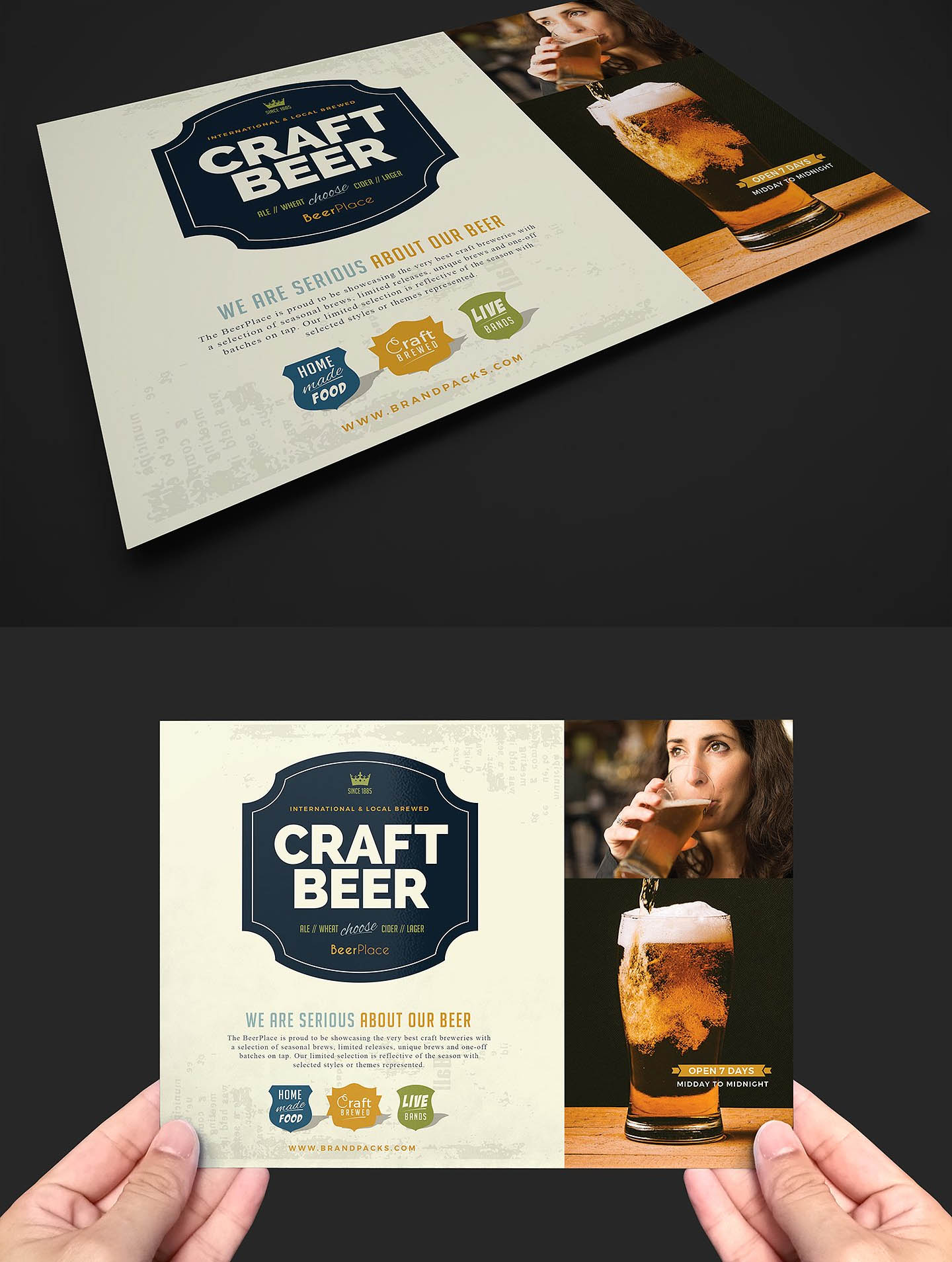 Pub Flyer Template v2