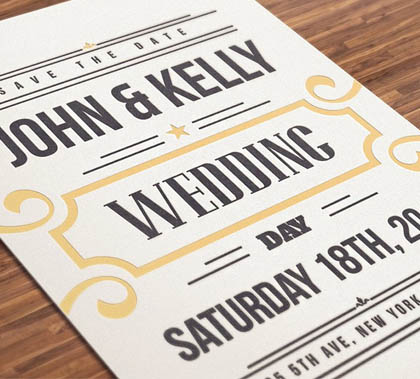 Post thumbnail of Best Corporate Wedding Invitation Designs