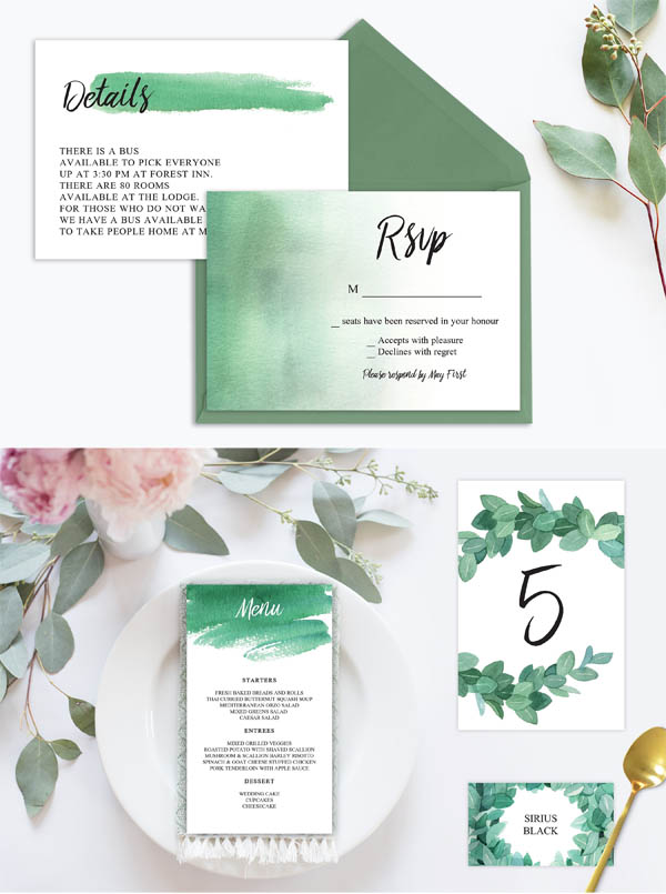 Eucalyptus Wedding Suite Vol.3