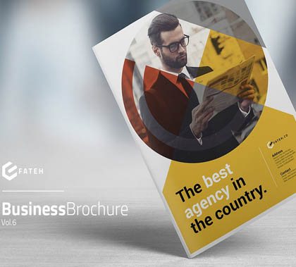 Post thumbnail of 15 Elegant Business Brochure Templates Design
