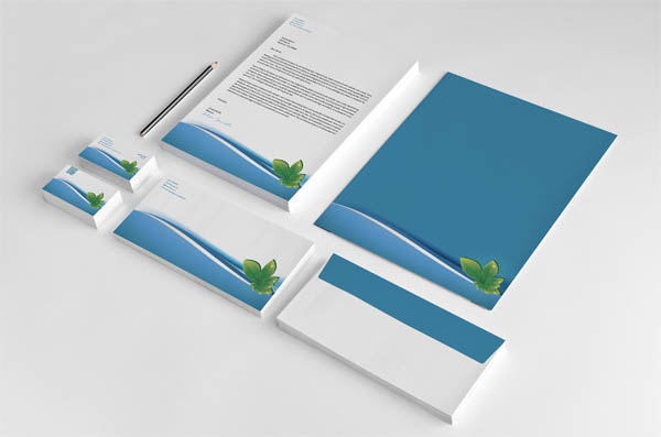 Leaf Stationery