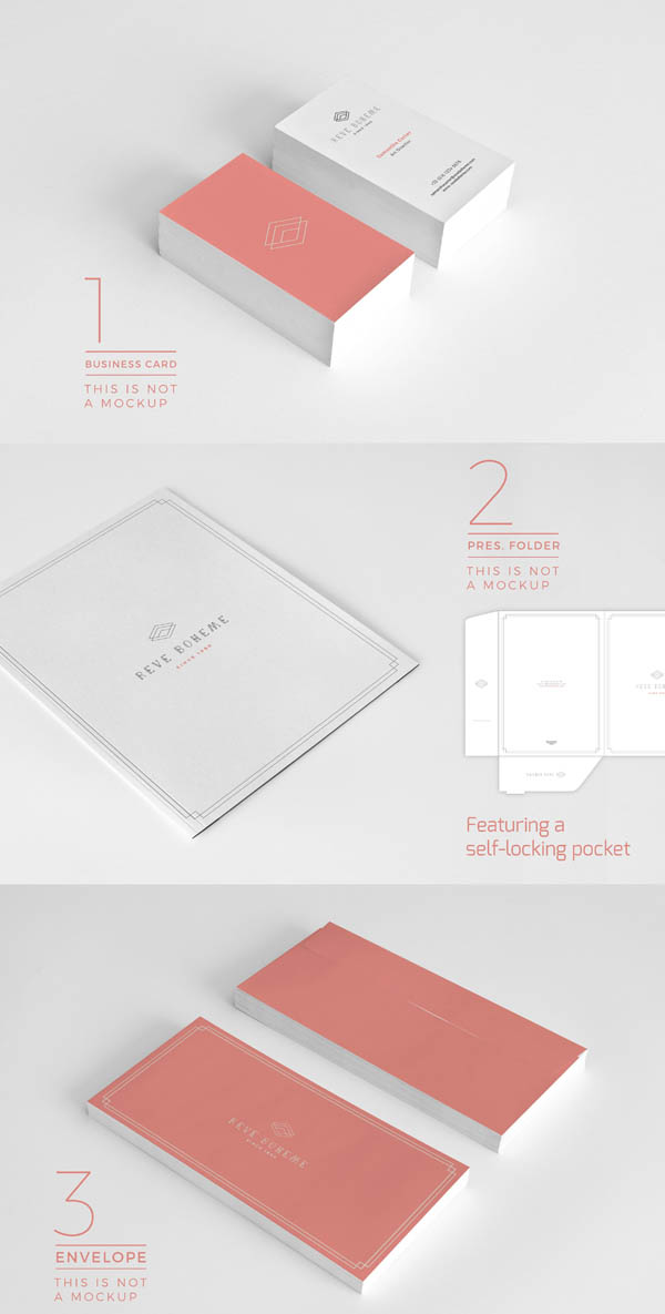 Stationery Corporate Identity 007