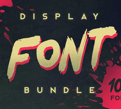 Display Font Bundle