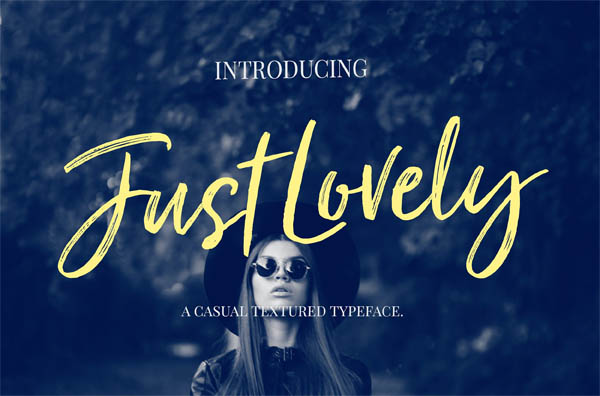 Just Lovely Font & Extras - 1