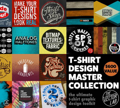 Post thumbnail of T-Shirt Design Master Collection