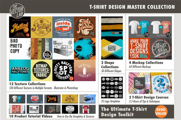 T-Shirt Design Master Collection - 1