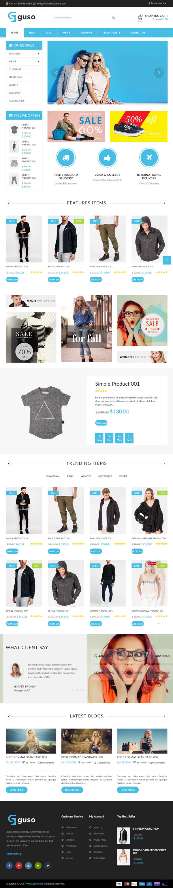 VG Guso : Fashion WooCommerce WordPress Theme