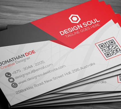 Post thumbnail of 21 Creative Minimal Business Cards Design