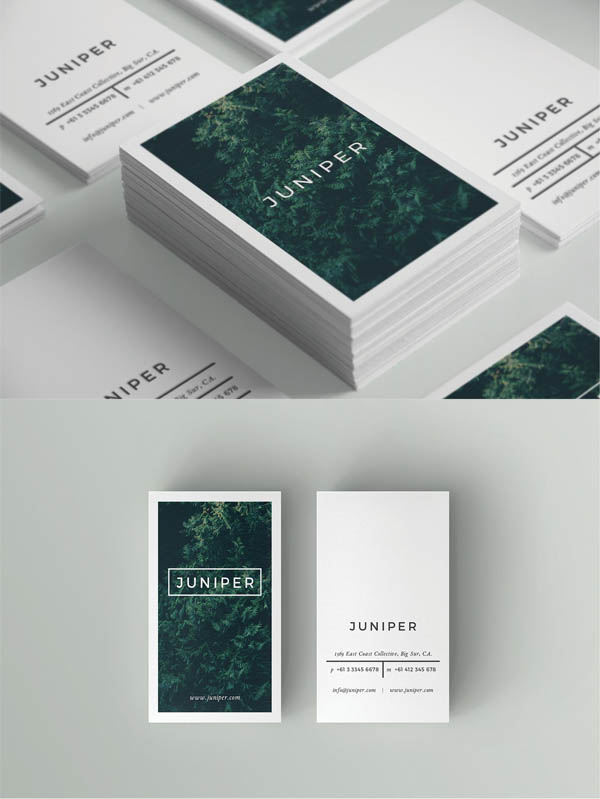 J U N I P E R Business Card Template