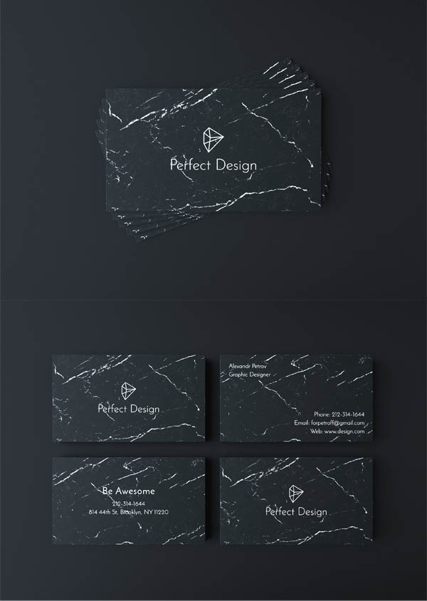 Markina Business Card Template