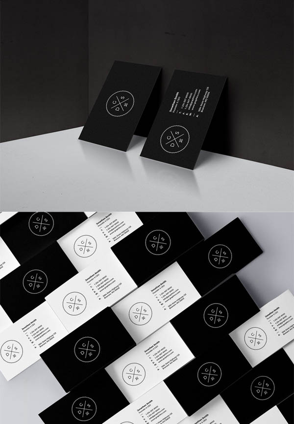 Simple Corporate Business Card - 51