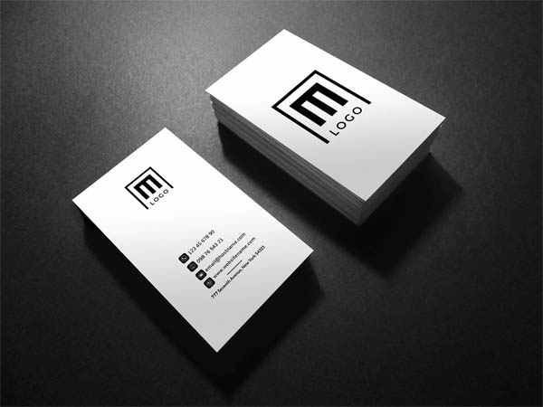 21 creative minimal business cards design inspiration