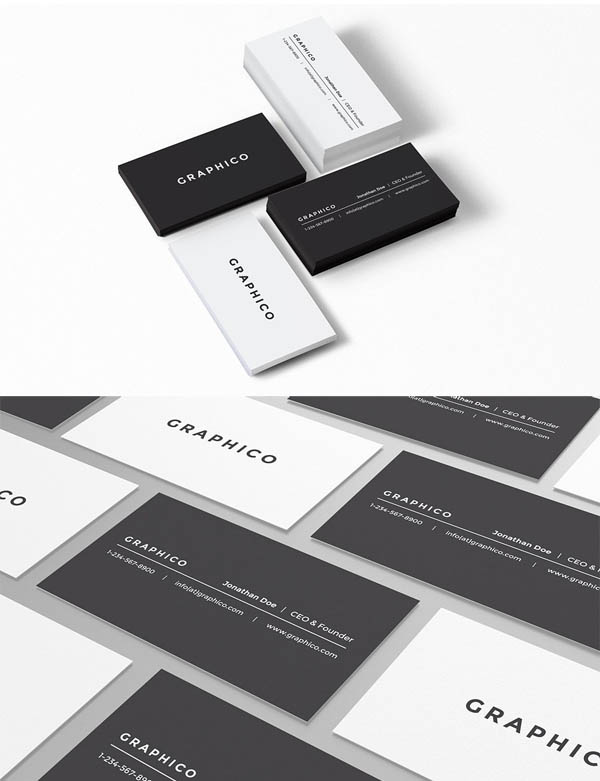 Simple Personal Business Card - 30