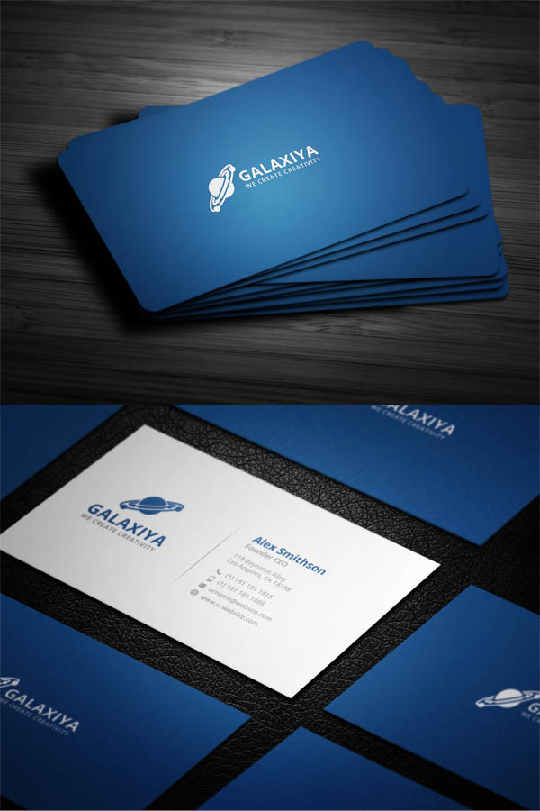 Modern Corporate Business Cards