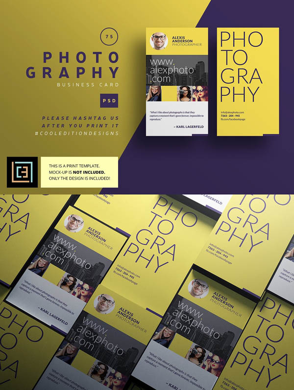 Photography - Business Card 75