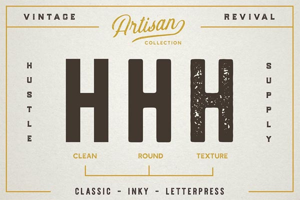 The Artisan Collection (Font Bundle) - 9