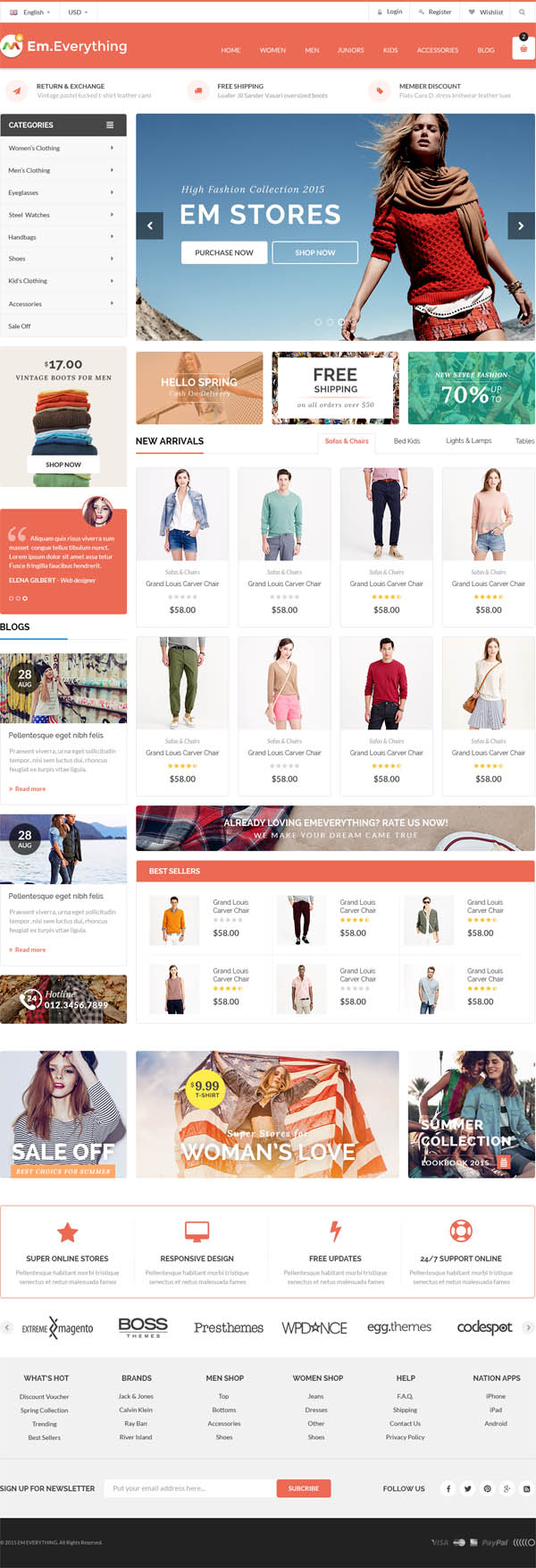 Everything : Woocommerce Responsive WordPress Theme