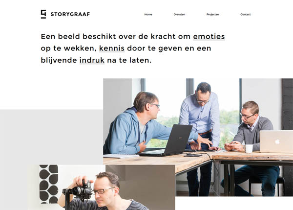Storygraaf by nmg | lights the spark