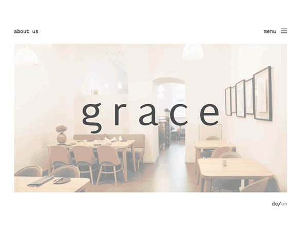 grace restaurant by Laura Kim Arnold