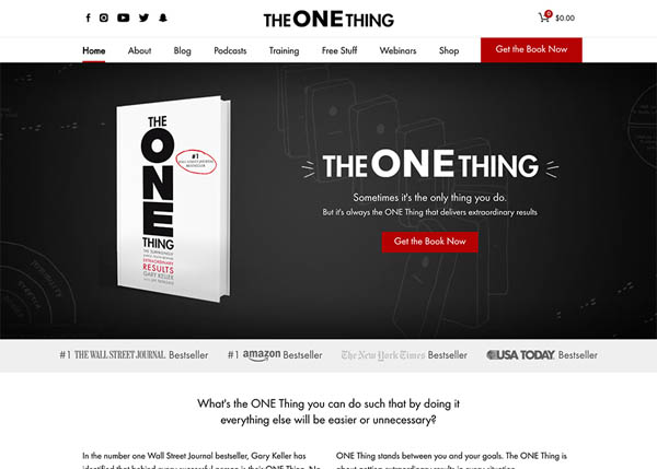 The ONE Thing by Lion's Share Digital