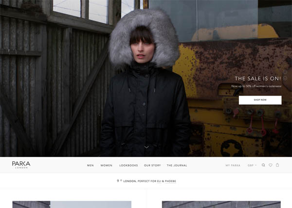 Parka London by Matter Of Form