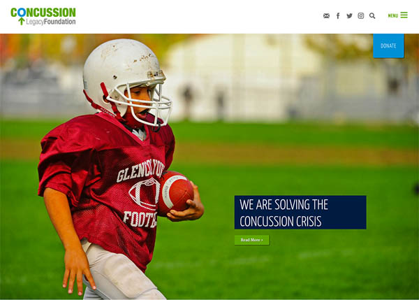 Concussion Legacy Foundation by bartlettinteractive