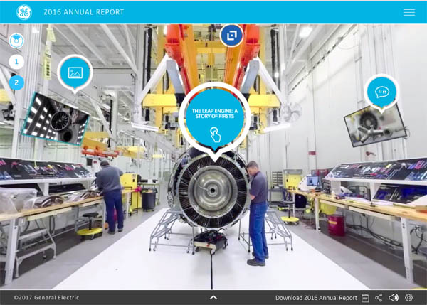 GE Annual Report 2016 by Addison NYC