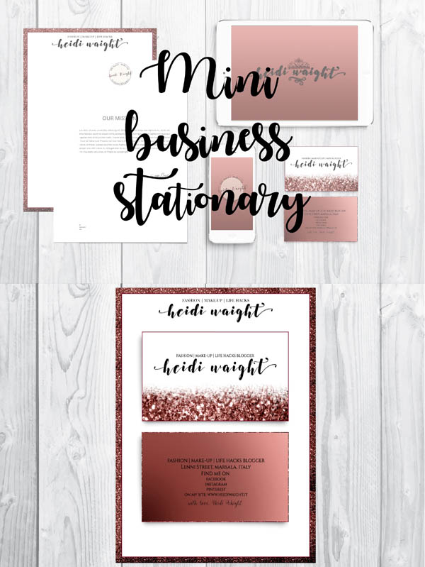 Business stationery | branding kit