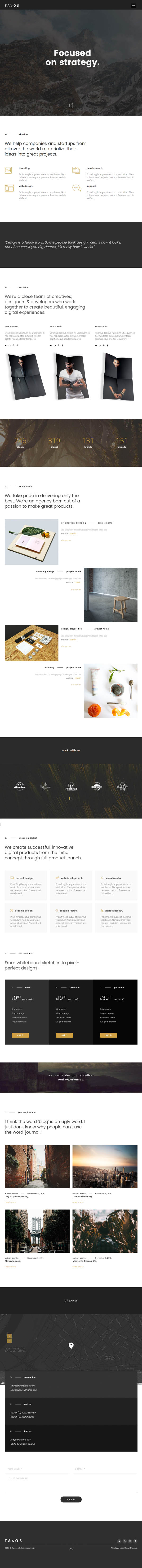 Talos : Creative Multipurpose WordPress Theme