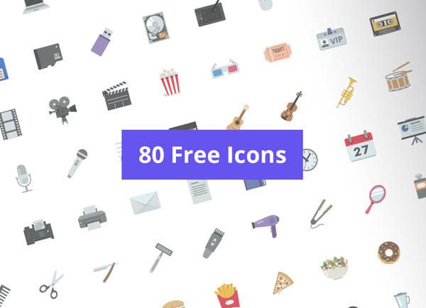 80 Best Icons - Free Download