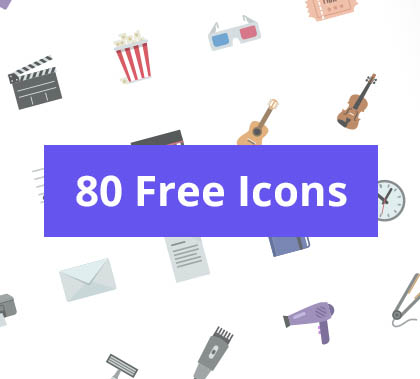 80 Best Icons – Free Download