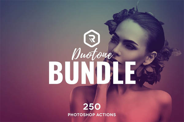 Duotone PS Actions Super Bundle - 1