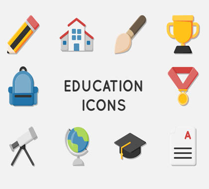 Post thumbnail of Free 40 Education Icons