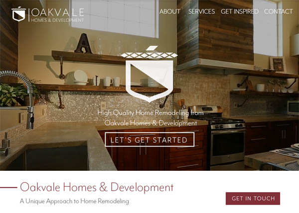 Oakvale Homes & Development by Wayward Creative
