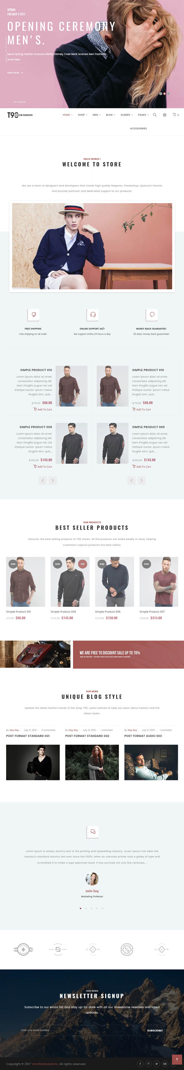 VG T90 – Clean, Minimalist WooCommerce WordPress Theme