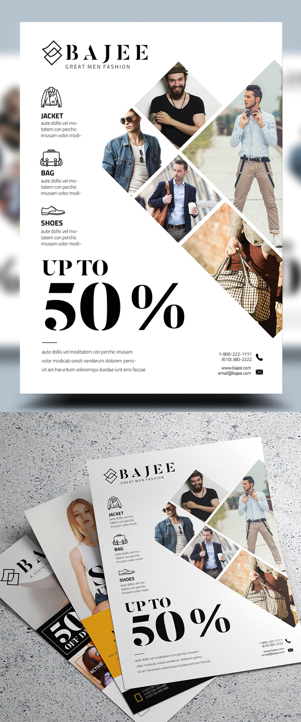 Corporate Fashion Flyer Template