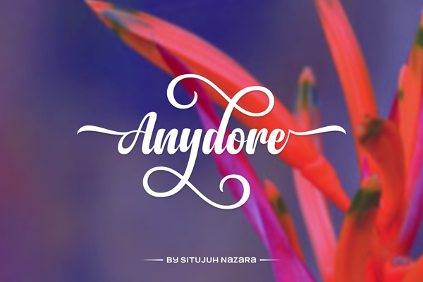 Anydore Font
