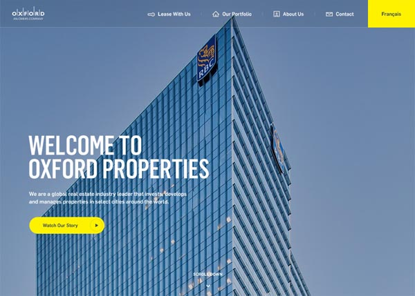Oxford Properties by Jam3