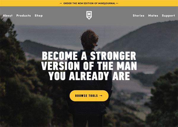 MindJournal For Men by Ollie Aplin