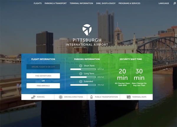 Pittsburgh Int'l Airport by FUSEIdeas