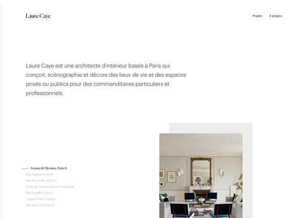 Laure Caye interior designer by Beaubourg