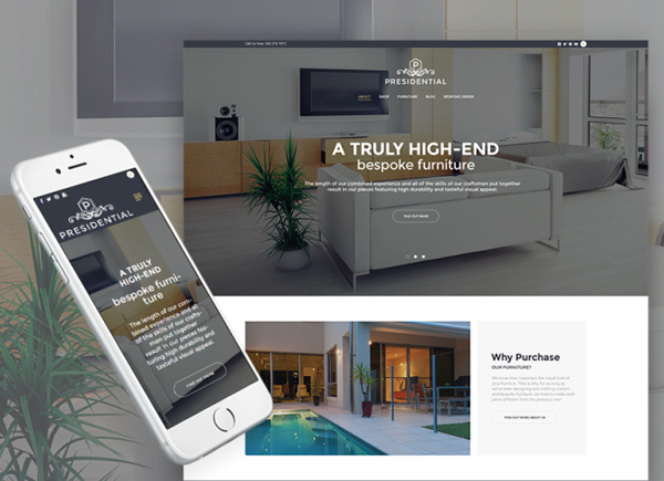 Presidential - Home Decor & Furniture WordPress Theme
