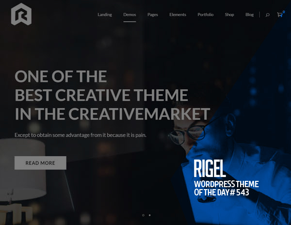 Rigel : Multi-Purpose Responsive WordPress Theme