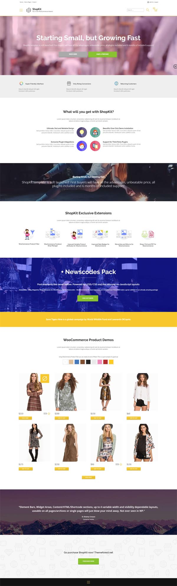 ShopKit :The WooCommerce Theme