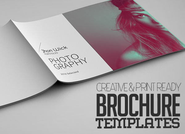 Professional And Creative Brochure Templates Graphics Design - Creative brochure templates