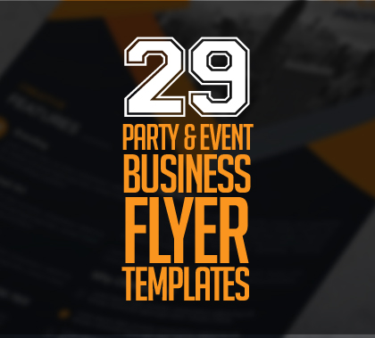 29 New Creative Business Flyer Templates
