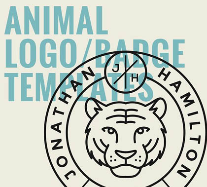 Animal Logo/Badge Templates Vol.2