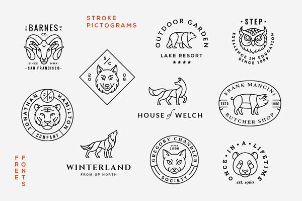 Animal Logo/Badge Templates - 1