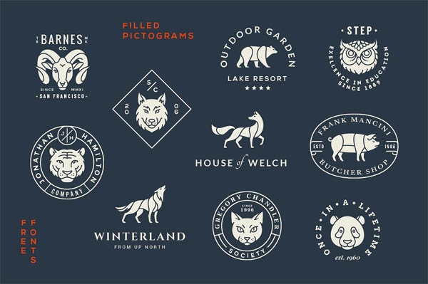 Animal Logo/Badge Templates - 3