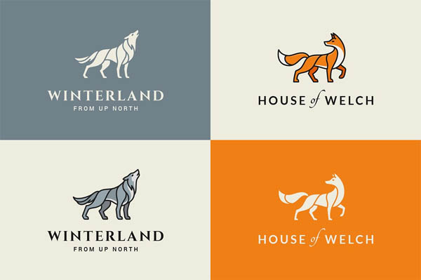 Animal Logo/Badge Templates - 8